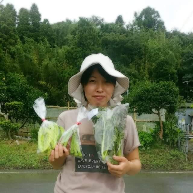 野菜生産者の青木さん