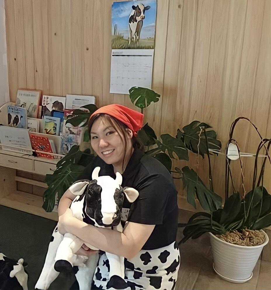 牛乳生産者の馬上さん